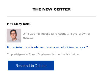 Debate Starter